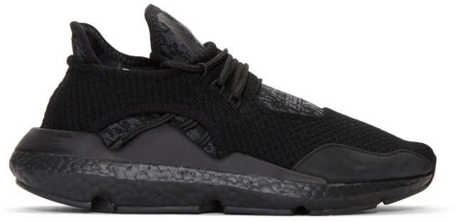 Y-3 Black Saikou Sneakers