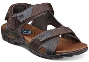 Nunn Bush Men's Rio Bravo Three-Strap River Sandals Men's Shoes