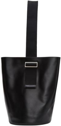 Jil Sander Black Bucket Backpack