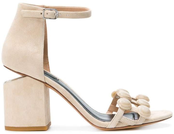 Alexander Wang Abby Dome Stud sandals