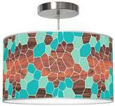 Jefdesigns Geode Pendant Light