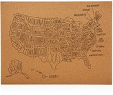 Easy Tiger US Map Wall Decor