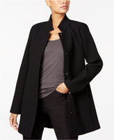 Eileen Fisher Textured Stand-Collar Jacket, Regular & Petite