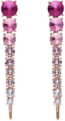 Oscar de la Renta Degrade Stone Earrings