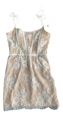 For Love & Lemons Camel Cotton Dresses
