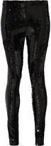 Isabel Marant Izard sequined crepe leggings