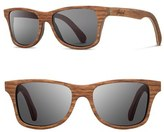 Shwood Women's 'Canby' 54Mm Wood Sunglasses - Walnut/ Grey