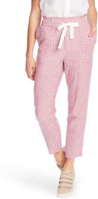 Vince Camuto Stripe Cotton & Linen Pants
