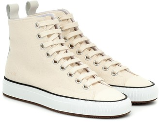 Common Projects Tournament High canvas sneakers