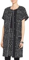 St. John Liya Tweed Knit Artisan Topper