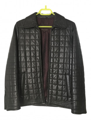Mulberry Brown Leather Leather jackets