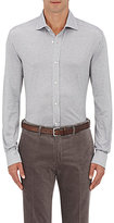 Ralph Lauren Purple Label Men's Aston Cotton Shirt-GREY