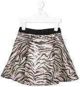 Kenzo tiger print mini skirt - kids - Viscose - 2 yrs