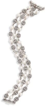 Konstantino Kleos Multi-Chain Pearl Bracelet