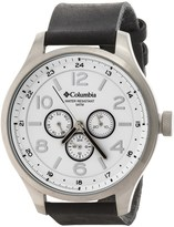 Columbia Skyline Watch - Leather Band (For Men and Women)