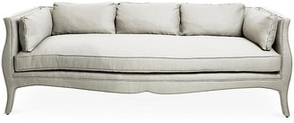 Bunny Williams Home Southern Belle Sofa - Natural Linen