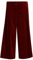 Vanessa Bruno Easton wide-leg cotton-blend corduroy culottes