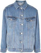 Topshop PETITE Mid Wash Denim Jacket