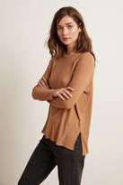 Velvet by Graham & Spencer TIANNA COZY RIB RAGLAN TOP