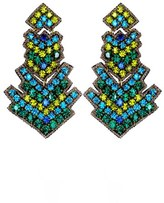 Suzanna Dai 'Zocalo' Large Drop Earrings