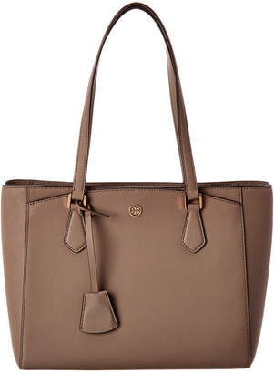 Tory Burch Robinson Small Leather Tote