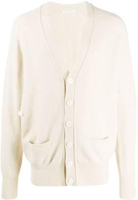 Extreme Cashmere V-neck double pocket cardigan
