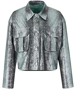 Giorgio Armani Emporio Cropped Boxy Jacket