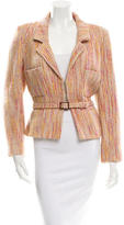 Chanel Wool Belted Jacket