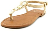 1.4.3. Girl Pivari Open Toe Synthetic Thong Sandal.