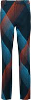 Roland Mouret Lacerta printed wool-blend crepe straight-leg pants