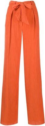 Gabriela Hearst Tomazia tie-waist trousers