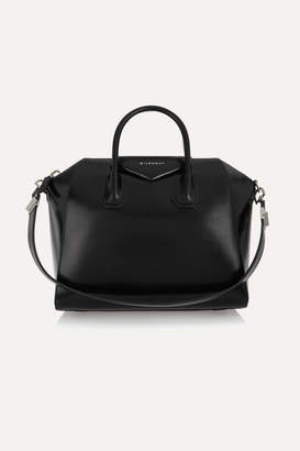 Givenchy Antigona Medium Leather Tote - Black