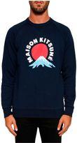 Kitsune 'mont Fuji' Sweatshirt