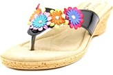 Easy Street Shoes Urbino Open Toe Synthetic Thong Sandal.