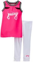Juicy Couture Tank & Legging Set (Toddler Girls)