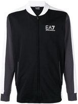 Ea7 Emporio Armani - track jacket - men - Cotton - S