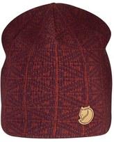 Fjäll Räven Men's Frost Wool Beanie - Burgundy