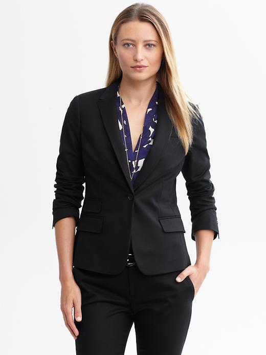 Banana Republic Sleek suit blazer