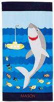 Pottery Barn Kids Shark Mini Beach Towel