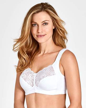 Miss Mary Of Sweden Miss Mary Non Wired Lace White Bra