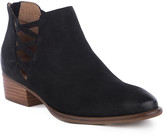 Seychelles Women's Casual boots BLACK - Black Cutout Remembrance Leather Bootie - Women