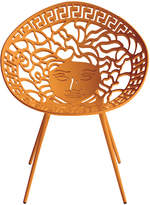 Versace Mesedia Chair - Metallic Orange