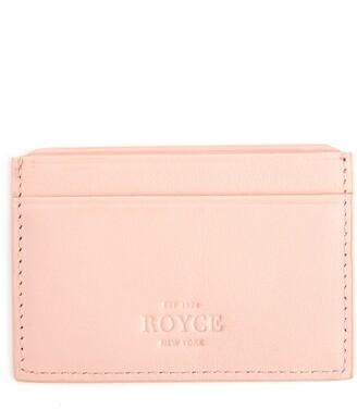 ROYCE New York ROYCE RFID Leather Card Case
