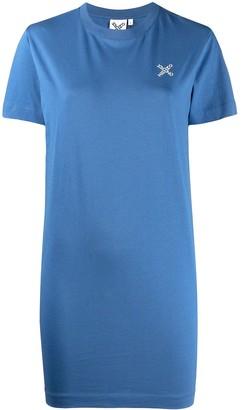 Kenzo Logo-Print Short-Sleeve Dress