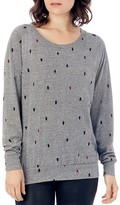 Alternative Slouchy Tree Print Raglan Pullover