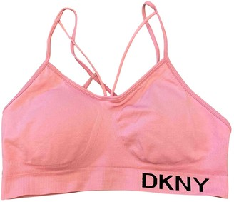 DKNY Pink Cotton Top for Women
