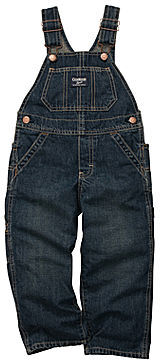 Osh Kosh Denim Overalls - Girls 3m-24m