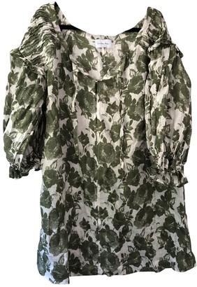 Innika Choo White Linen Dress for Women