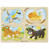 Melissa & Doug 4-in-1 Pets Peg