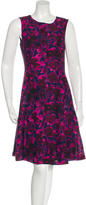 Oscar de la Renta 2017 Blurred Wild Rose Dress w/ Tags